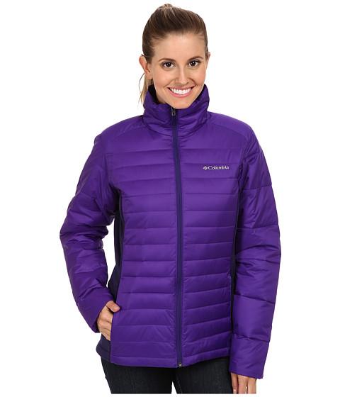 Columbia - Powder Pillow Hybrid Jacket (Hyper Purple/Inkling) Women