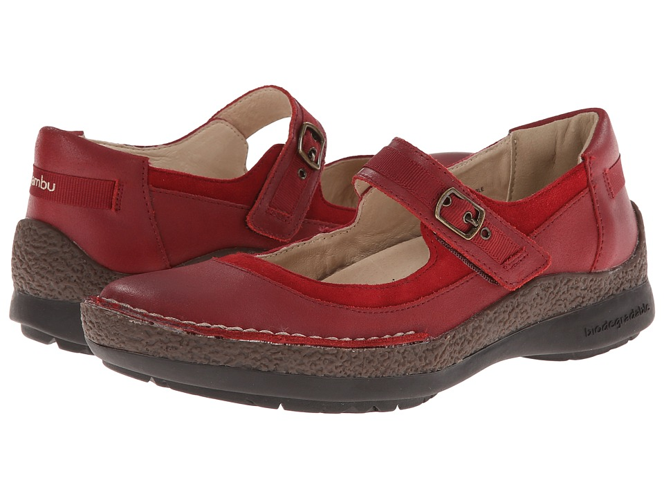 Jambu - Sloane (Deep Red) Women's Shoes