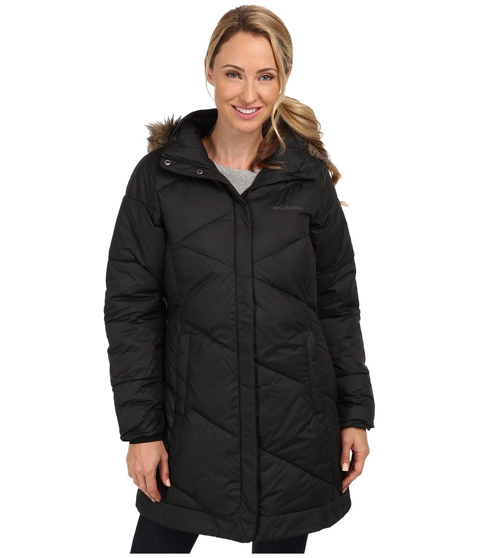 Columbia - Snow Eclipse Mid Jacket (Black) Women's Coat