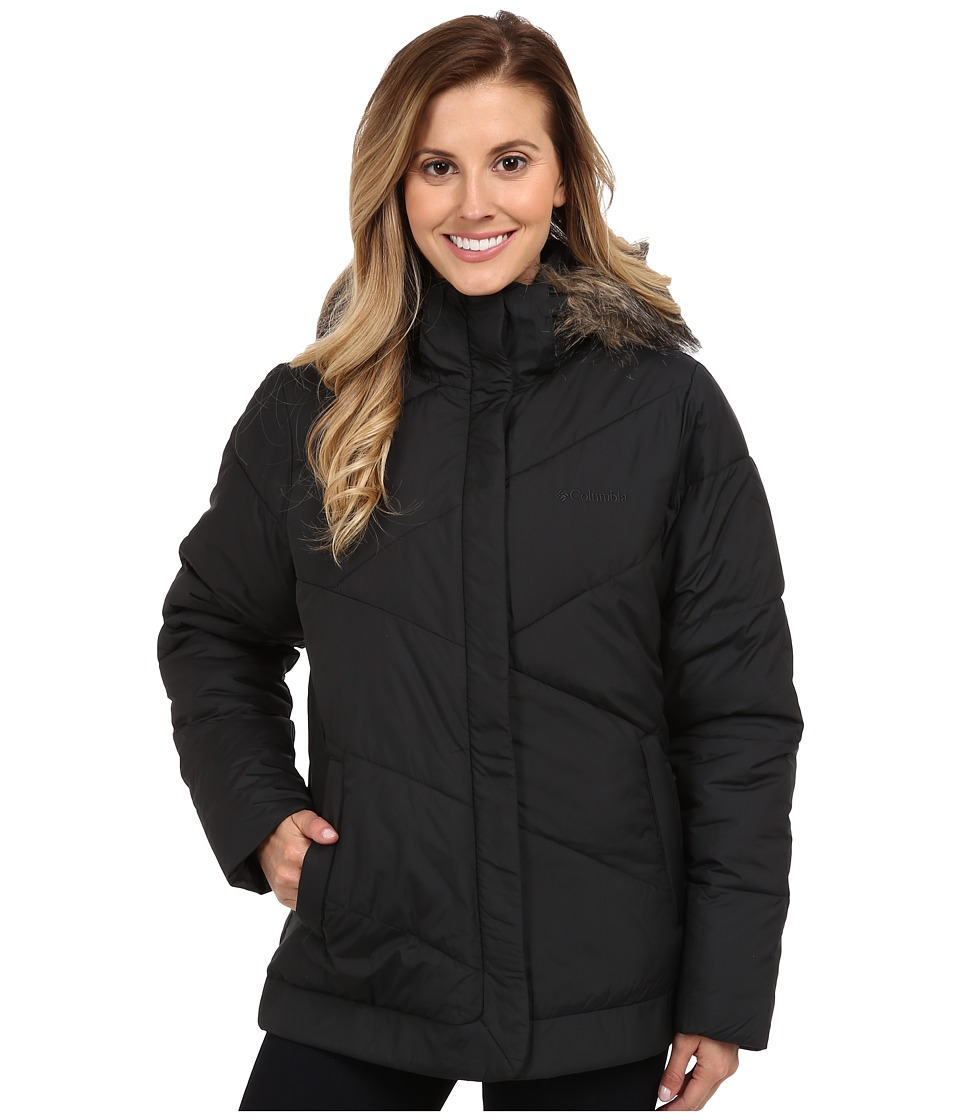 Columbia - Snow Eclipse Jacket (Black) Women's Coat