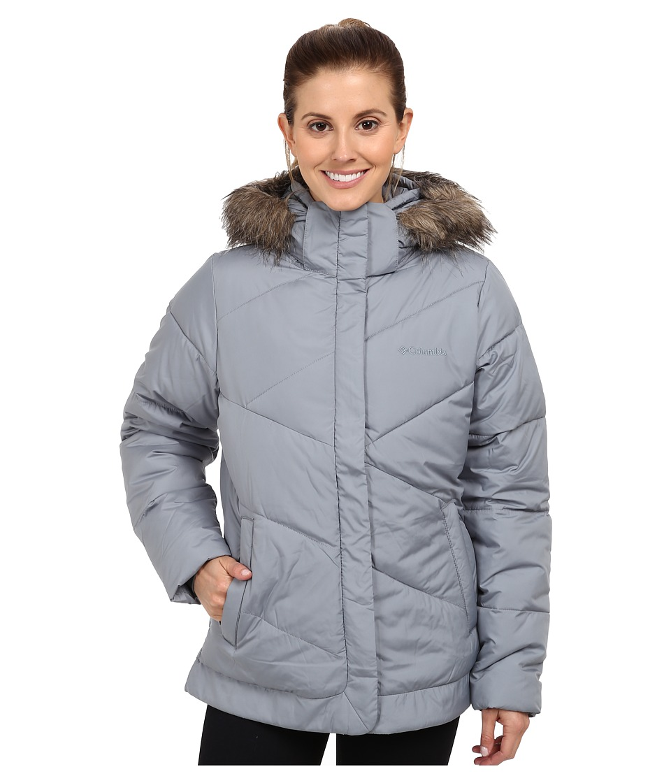 Columbia - Snow Eclipse Jacket (Tradewinds Grey) Women's Coat