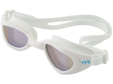 TYR - Special Ops 2.0 Polarized Goggles (White) Water Goggles