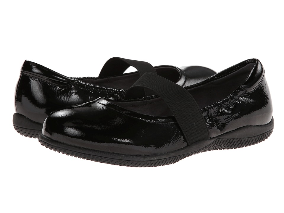 SoftWalk - High Point (Black Crinkle Patent Leather) Women