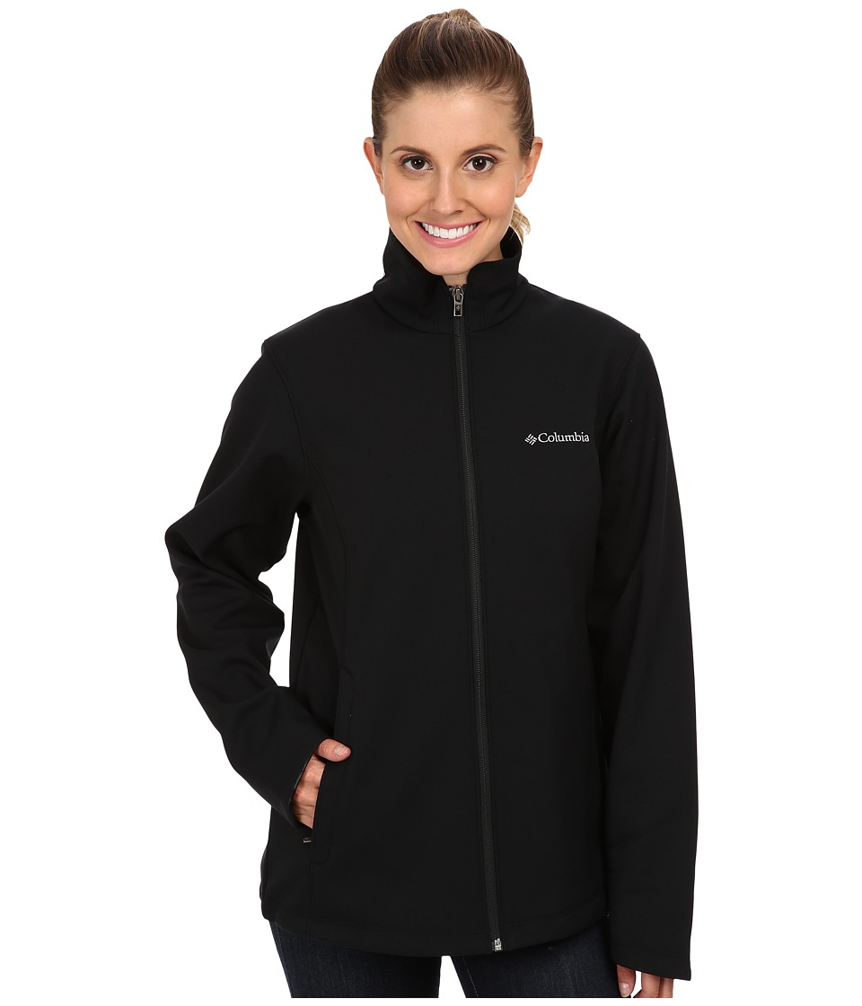 Columbia - Kruser Ridge Softshell (Black) Women's Coat