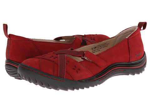 Jambu - Hayley (Deep Red) Women's Shoes