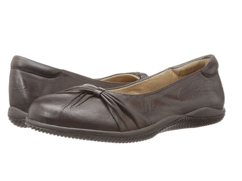 SoftWalk - Haverhill (Dark Brown Soft Nappa Leather) Women's Shoes