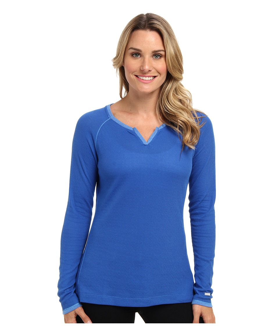 Columbia - Sweetheart Grove Long-Sleeve Shirt (Blue Macaw/Harbor Blue) Women's Long Sleeve Pullover