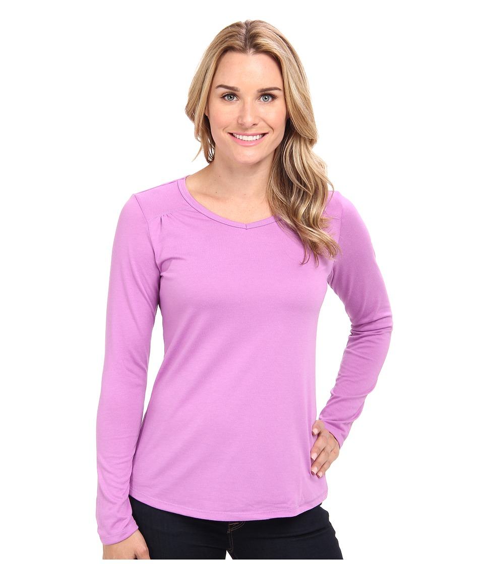 Columbia - Thistle Ridge Long Sleeve Tee (Blossom Pink) Women's Long Sleeve Pullover
