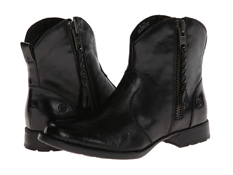 Born - Gilly (Black) Women's Zip Boots