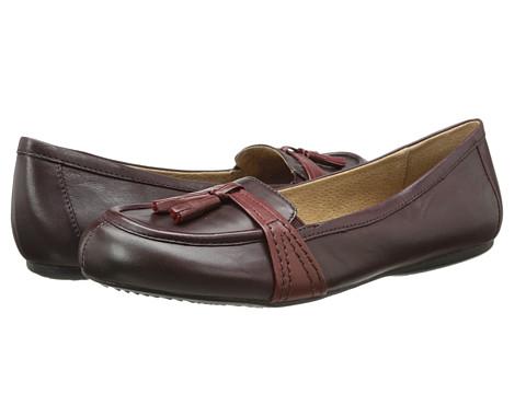 SoftWalk - Neverland (Oxblood/Dark Red Soft Kid Leather) Women's Shoes