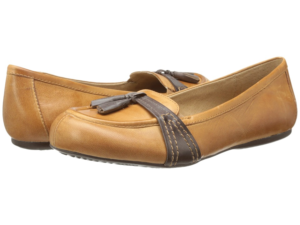 SoftWalk - Neverland (Cognac/Dark Brown Soft Dull Leather) Women