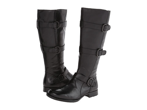 Born - Umbra (Black) Women's Zip Boots