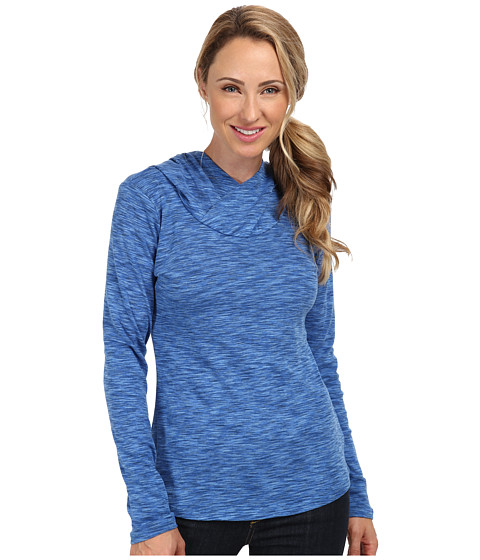 Columbia - OuterSpaced Hoodie (Harbor Blue) Women's Long Sleeve Pullover