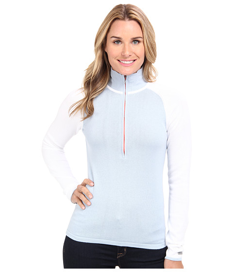 Columbia - After the Alpine Half-Zip Sweater (White/Mirage) Women's Sweater