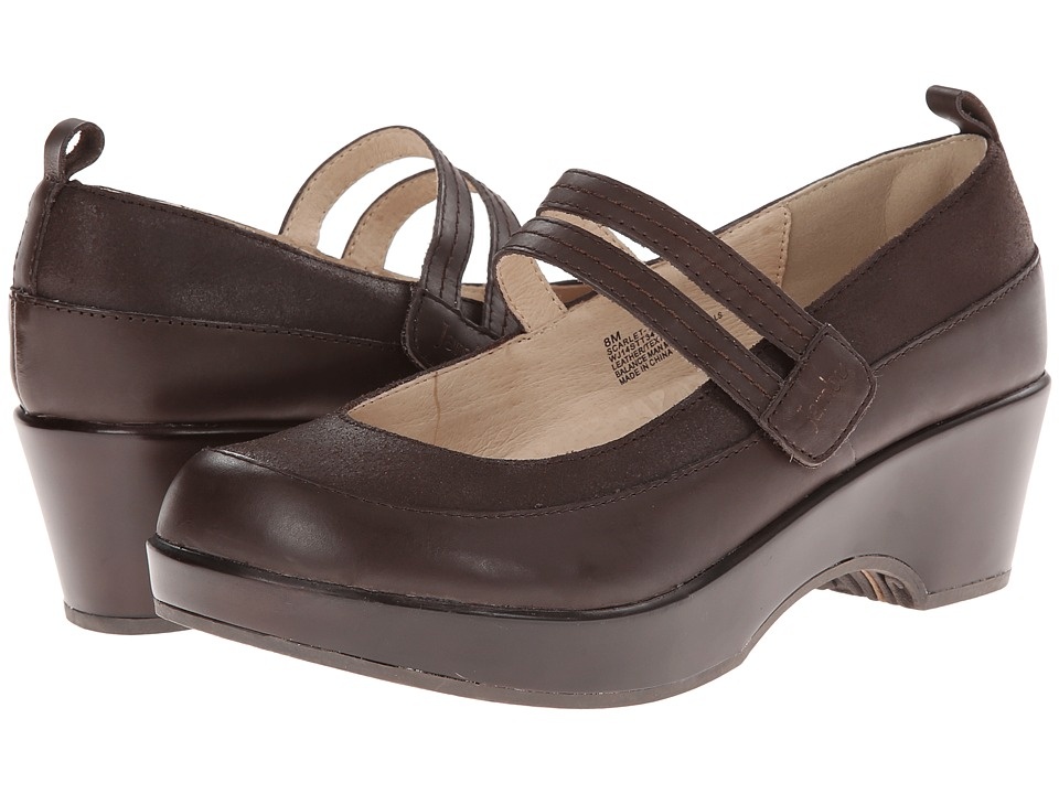 Jambu - Scarlet - Too (Brown) Women's Shoes