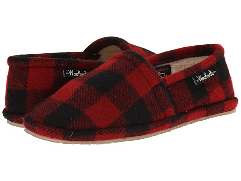 Woolrich - Chatham Chill (Red Buffalo Check) Men's Slippers