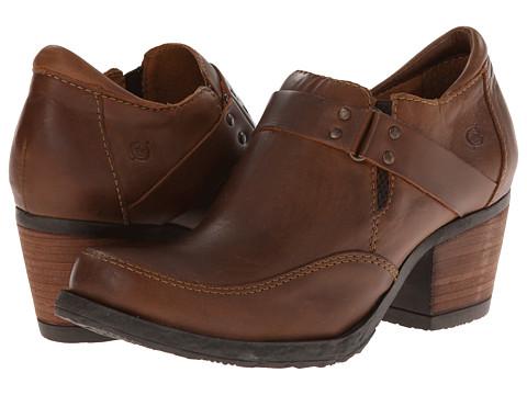 Born - Nyssa (Tan) Women's 1-2 inch heel Shoes
