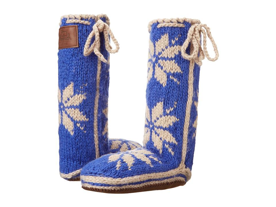 Woolrich - Chalet Sock (Sapphire) Women's Slippers