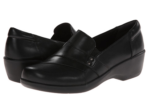 Clarks - Esha Marigold (Black Leather) Women