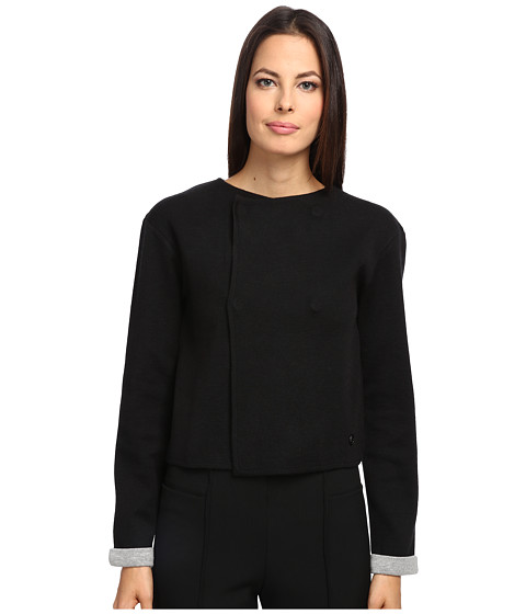 Armani Jeans - Wool Button Blazer (Black) Women