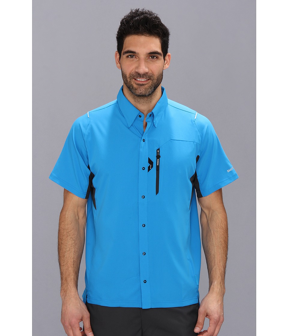 Shimano - Button Up Shirt (Lightning Blue) Men