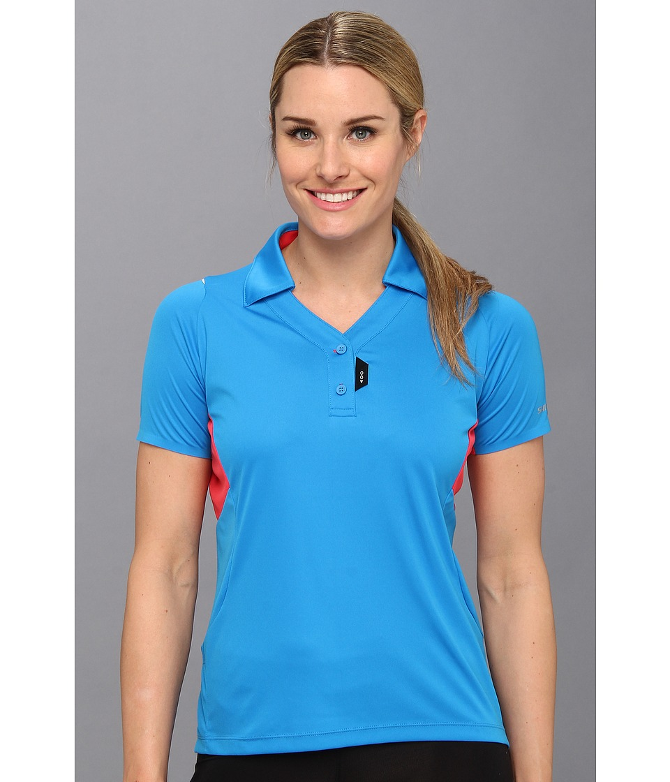 Shimano - Polo Shirt (Light Blue) Women's Clothing