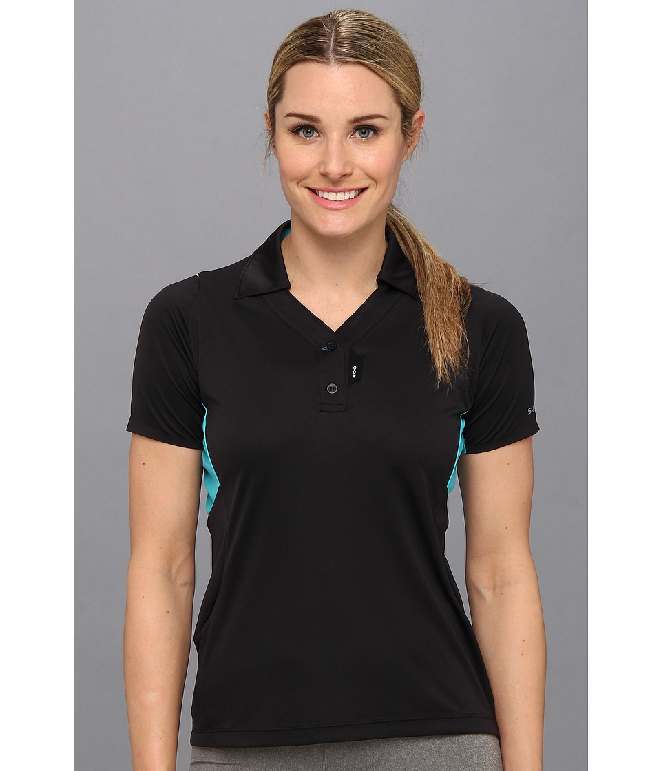 Shimano - Polo Shirt (Black) Women's Clothing