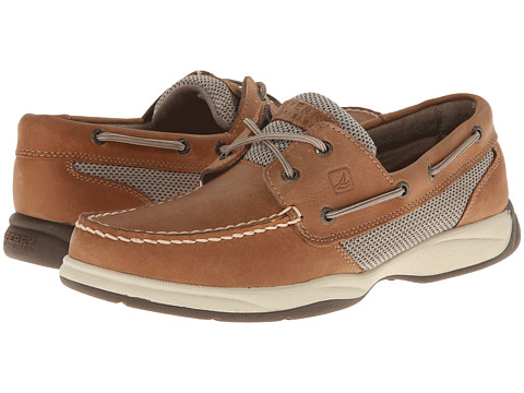 Sperry Top-Sider - Intrepid (Tan/Mesh) Women's Lace Up Moc Toe Shoes