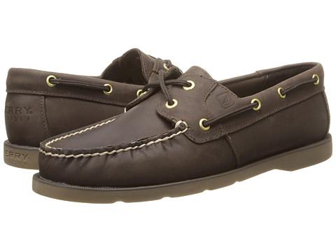Sperry Top-Sider - Leeward (Dark Brown) Women's Slip on  Shoes