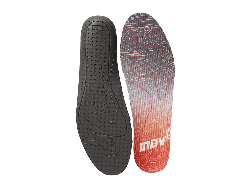 inov-8 - 3MM Footbed (Black/Red) Insoles Accessories Shoes