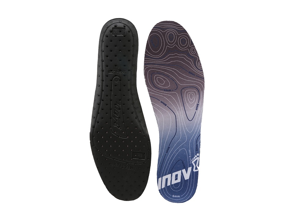 inov-8 - 6MM Footbed (Black/Blue) Insoles Accessories Shoes