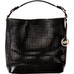 MICHAEL Michael Kors Bridget Large Shoulder (Black) Shoulder Handbags