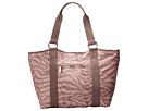 LeSportsac Carryall Tote (Zebra Tan) Tote Handbags