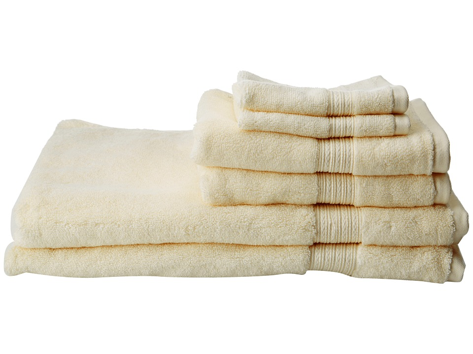 Kassatex - Kassadesign 6 Piece Towel Set (Ivory) Bath Towels