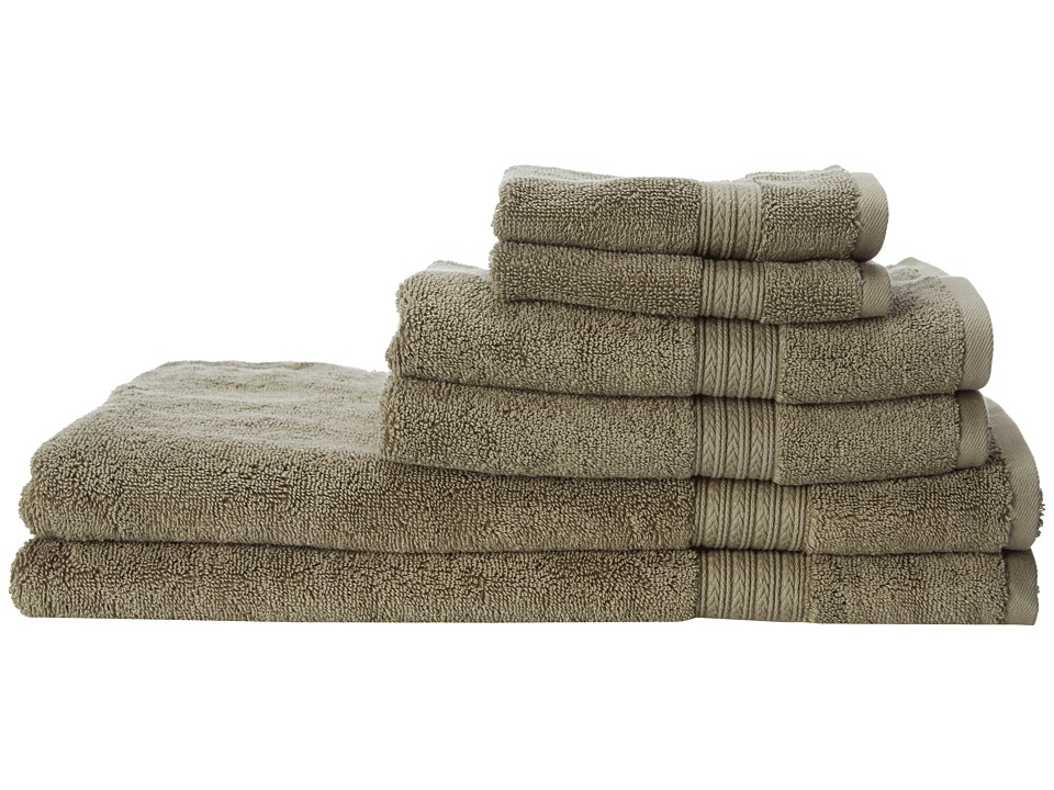 Kassatex - Kassadesign 6 Piece Towel Set (Moss) Bath Towels
