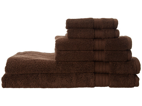Kassatex - Kassadesign 6 Piece Towel Set (Chocolate) Bath Towels