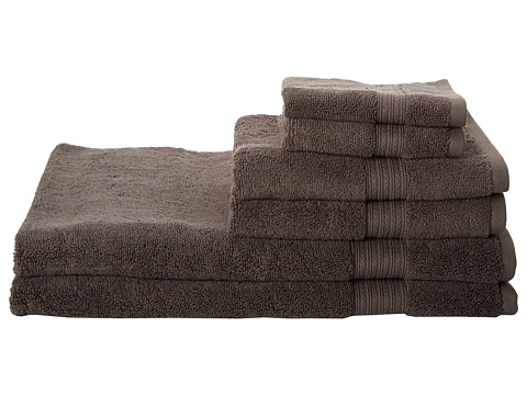 Kassatex - Kassadesign 6 Piece Towel Set (Charcoal) Bath Towels