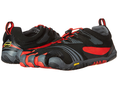 Vibram FiveFingers - KMD Sport LS (Black/Red/Grey) Men's Shoes