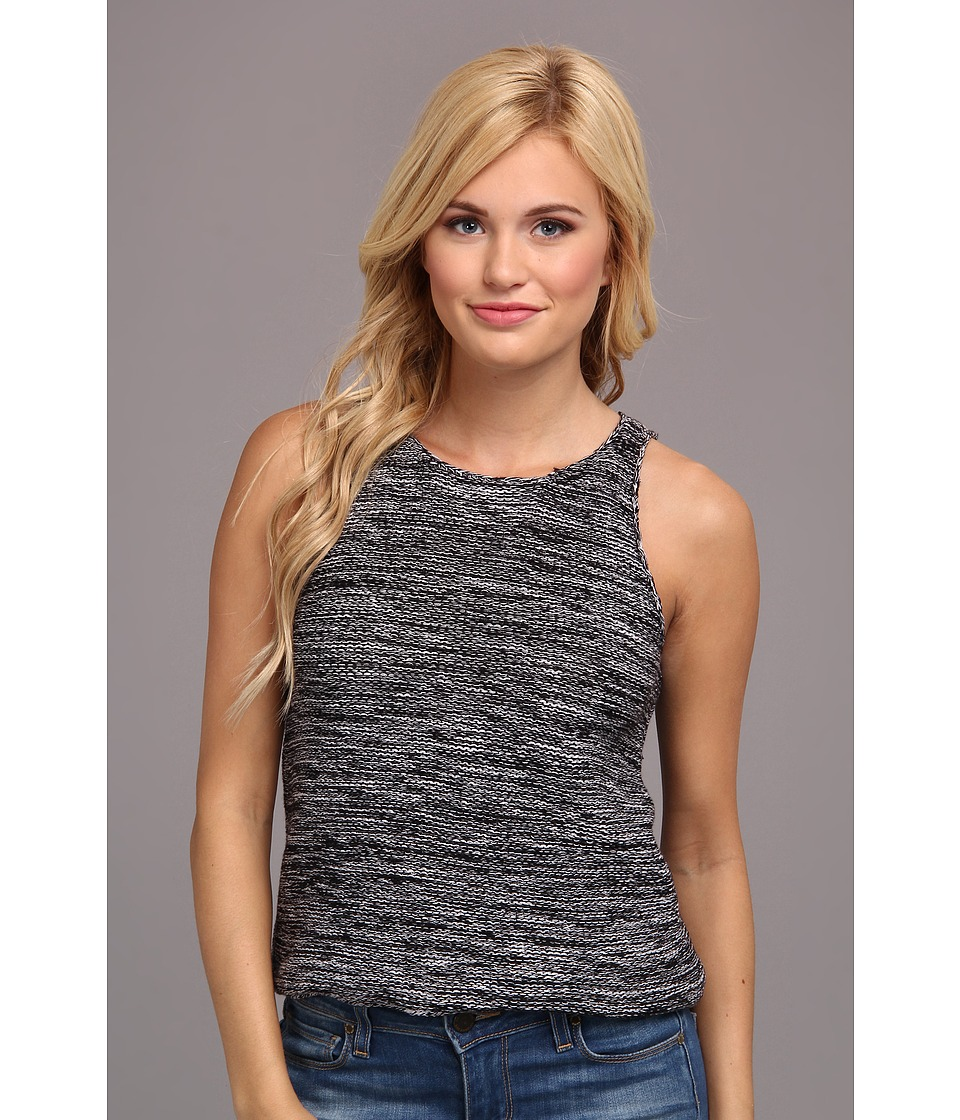 Sanctuary - Purl Shell (Black/White) Women's Sleeveless