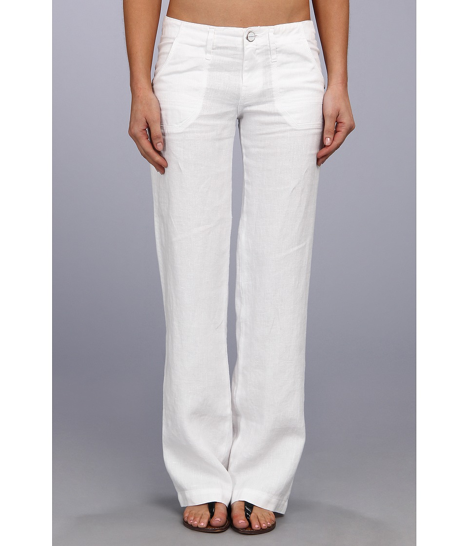 Sanctuary - Linen Breezeway (White) Women's Casual Pants