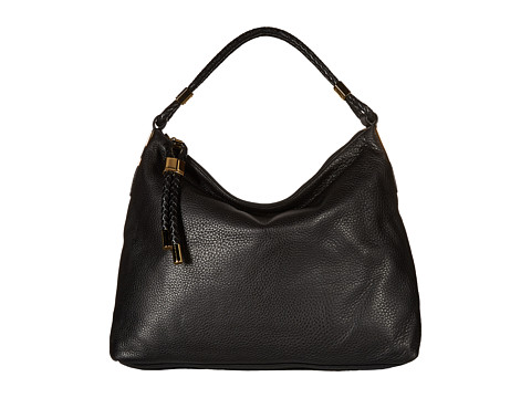 Michael Kors - Skorpios Top Zip Shoulder (Black) Shoulder Handbags