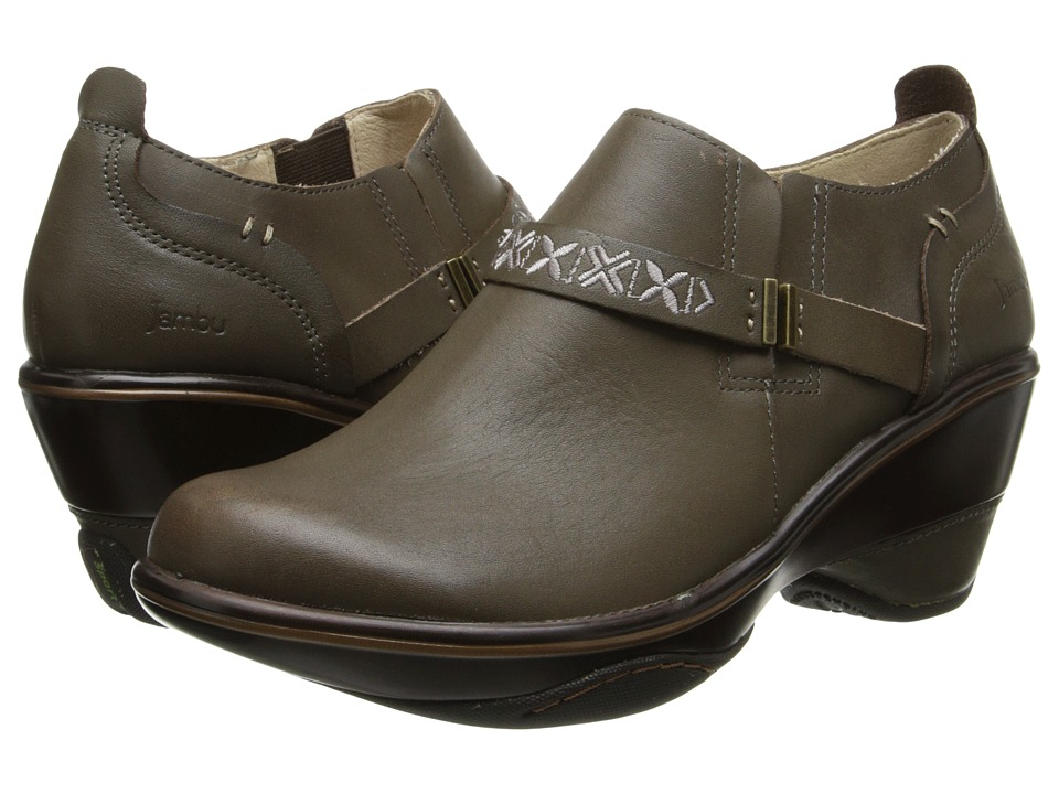 Jambu - Cambridge (Dark Taupe) Women's Shoes