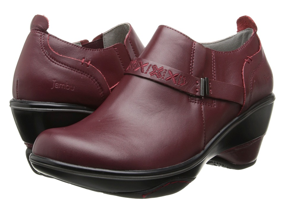 Jambu - Cambridge (Deep Red) Women's Shoes