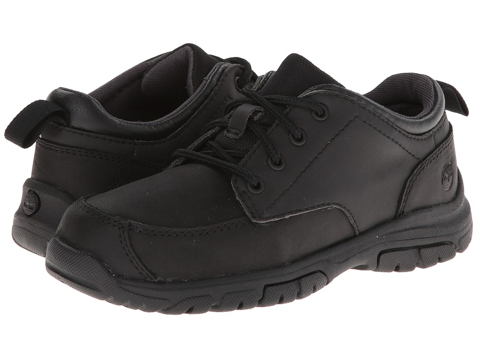 Timberland Kids - Discovery Pass Oxford (Little Kid) (Black) Boys Shoes