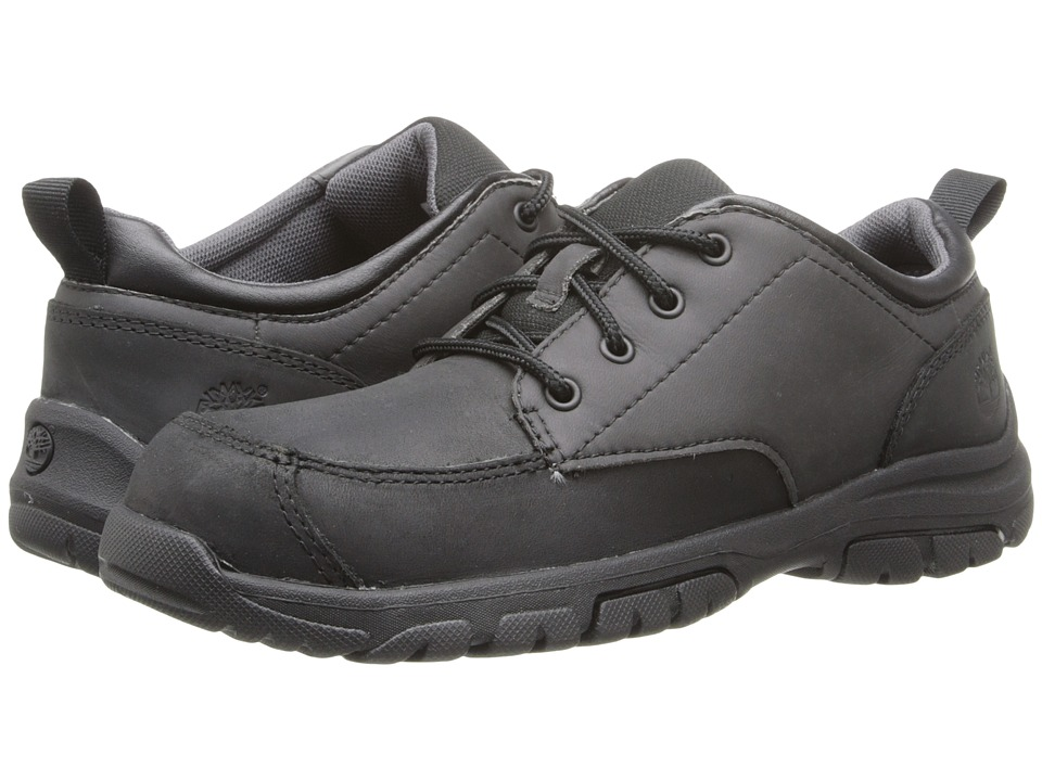 Timberland Kids - Discovery Pass Oxford (Big Kid) (Black) Boy's Shoes