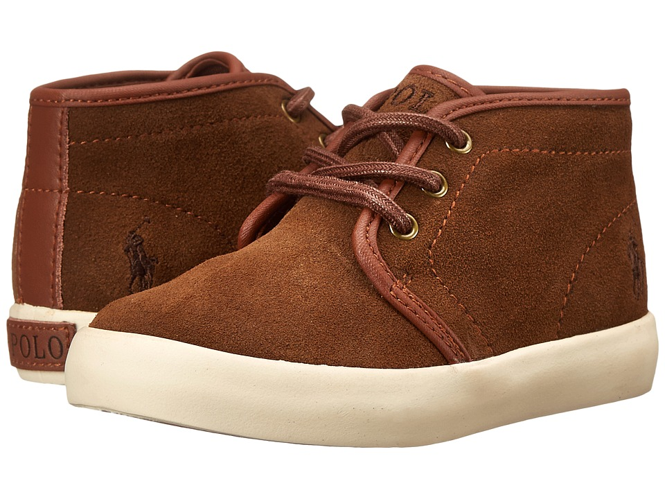 Polo Ralph Lauren Kids - Ethan Mid (Toddler) (Snuff Suede) Boy's Shoes