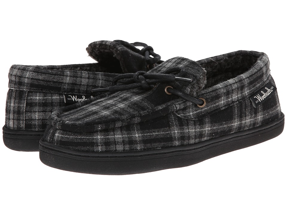 Woolrich - Lewisburg (Charcoal Plaid '14) Men's Slippers
