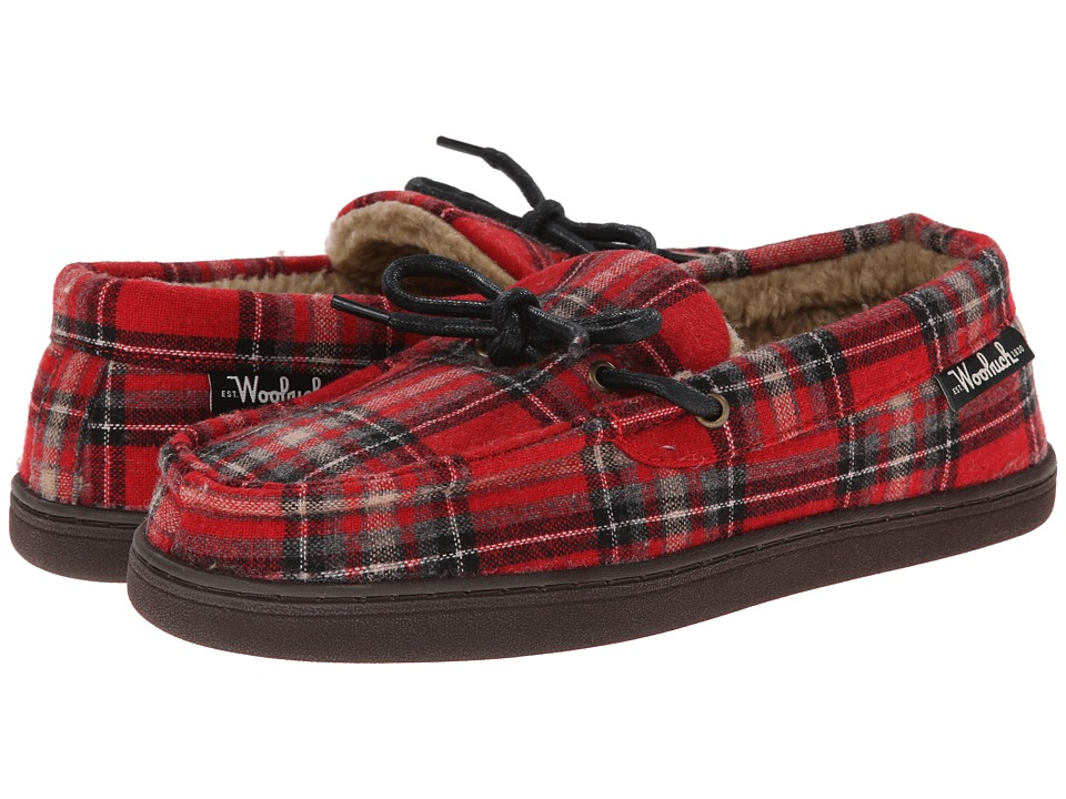 Woolrich - Lewisburg (Chocolate Plaid '14) Men's Slippers