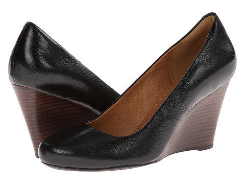 Clarks - Purity Crystal (Black Leather) Women's Shoes