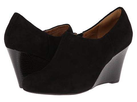 Clarks - Purity Frost (Black Suede) Women's Shoes